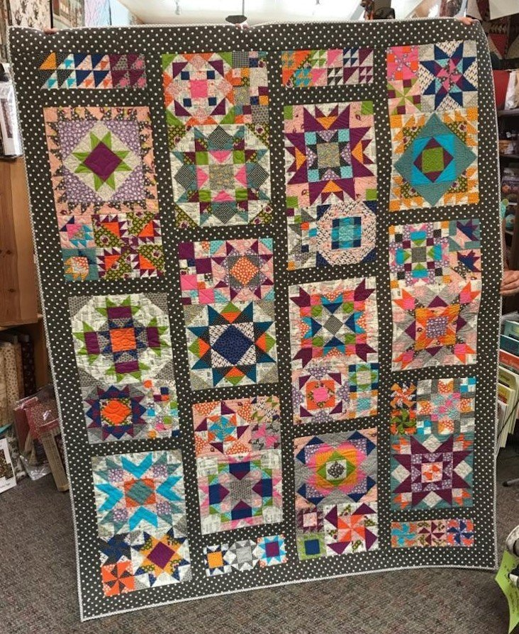 saturday Sampler tater patch quilts