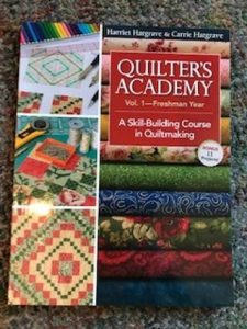 Freshman Quilter's Academy (Class 1 of 2) @ Tater Patch Quilts
