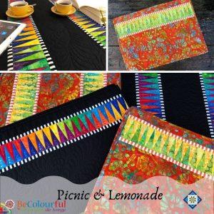 Picnic & Lemonade Paper Piecing @ Tater Patch Quilts