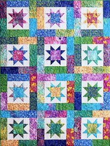 Lucky Stars @ Tater Patch Quilts