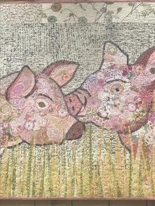 Fiberworks Collage Workshop (2 of 2) @ Tater Patch Quilts